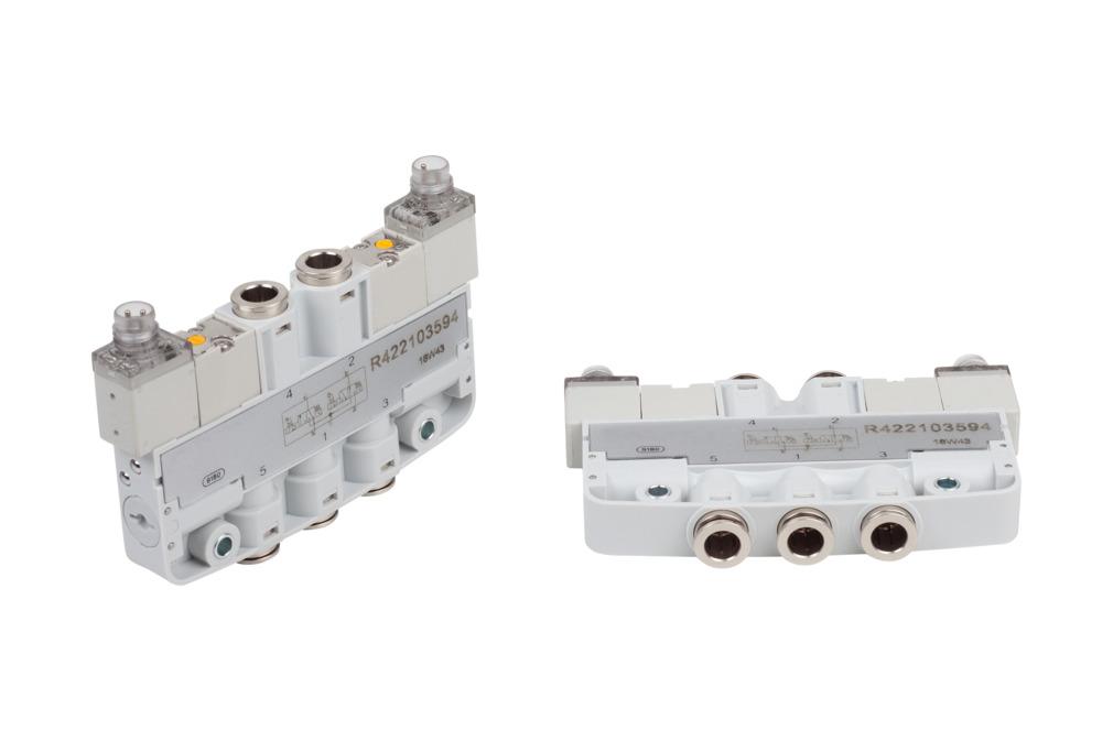 EMVP 2.35 24V-DC 2x3/2 NO/NC CAR