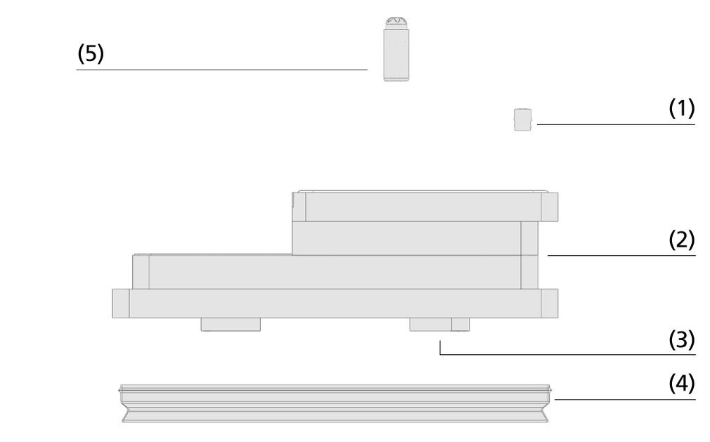 Vacuum block VCBL-R
