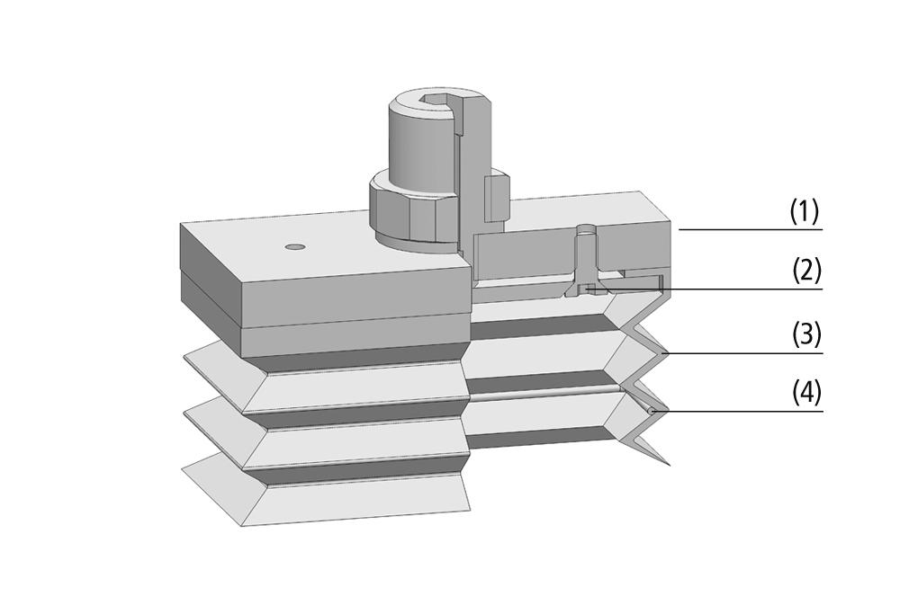 Balgsauggreifer FSGB-R (rechteckig)