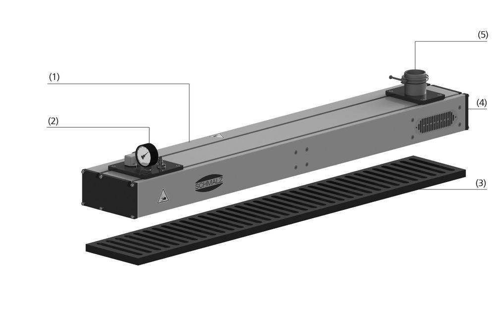 Flächengreifsysteme SBX-C ohne Ejektor