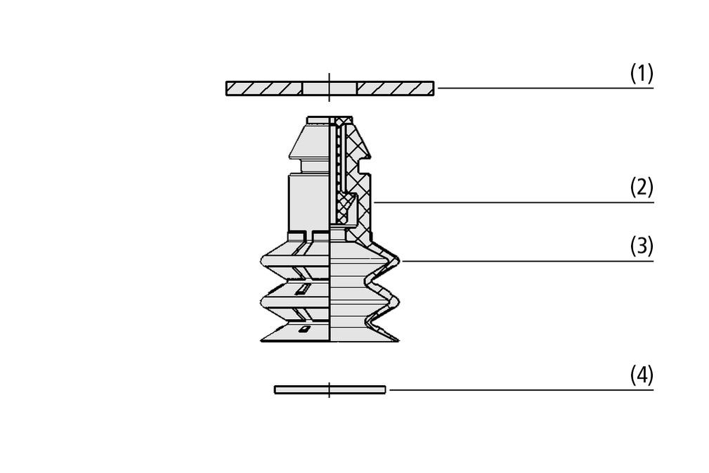 Balgsauger SPB2 P (2,5 Falten)