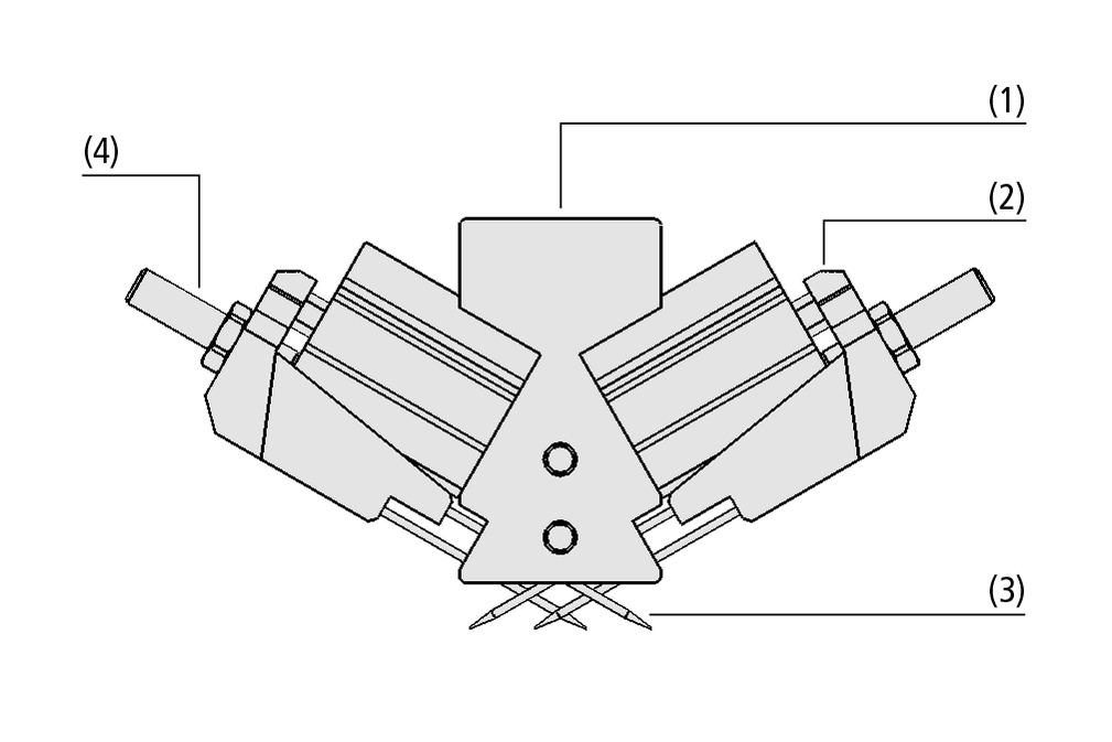 Garras de agujas SNG-V