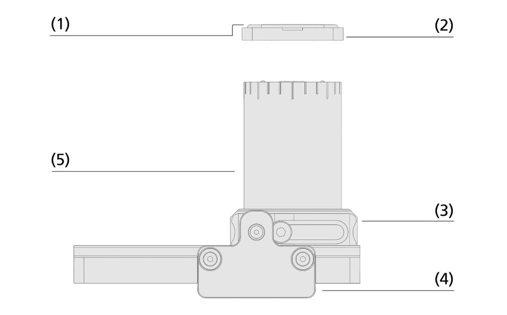 Blocs de bridage par le vide en aluminium VCBL-A-K1