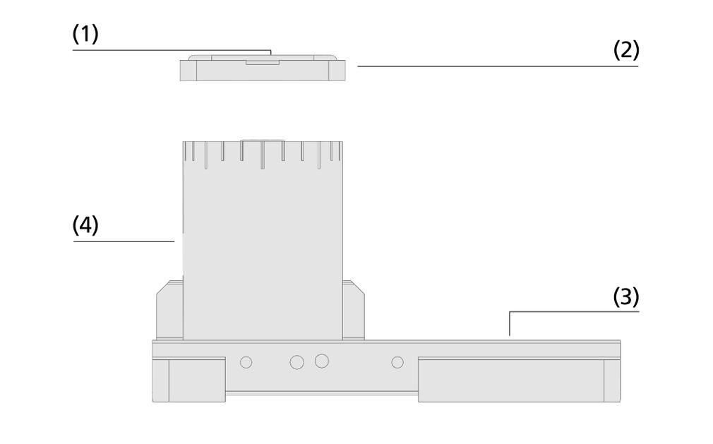 Ventosas de bloque de aluminio VCBL-A-K2