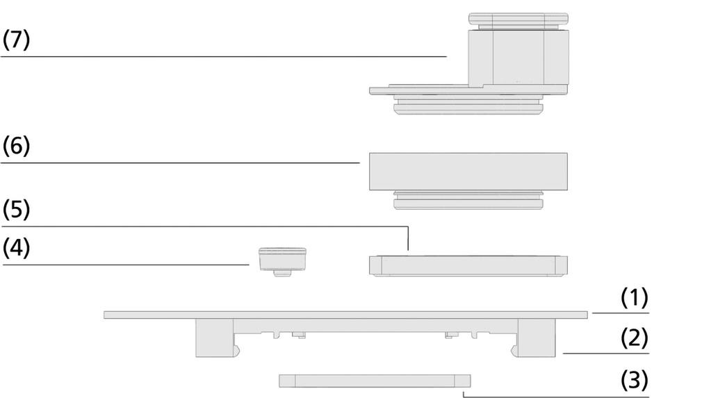 Plaques d'adaptation ISAP-S