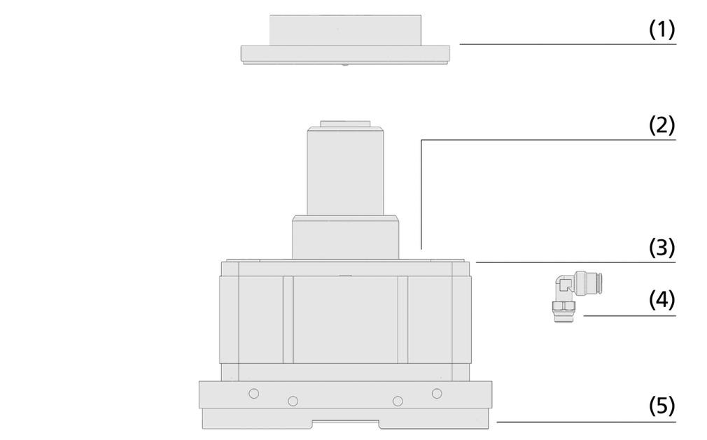 Fijaciones mecánicas VCMC-G
