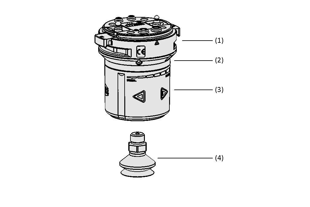 Electrical Vacuum Generator ECBPMi MATCH