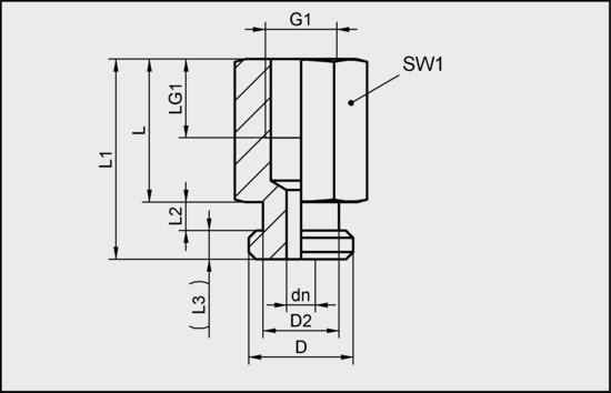 SA-NIP N029 G1/8-IG DN350