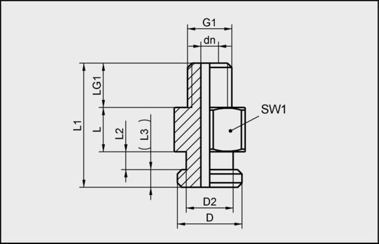 SA-NIP N029 G1/8-AG DN350