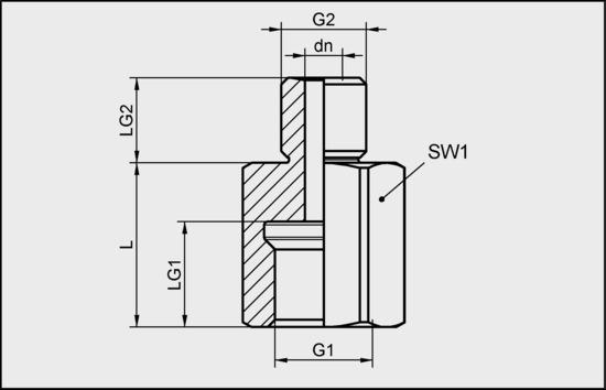 SA-NIP N009 G1/4-IG DN440