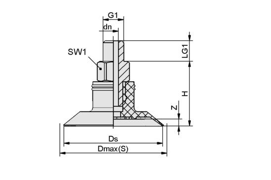SGPN 24 HT1-60 G1/8-AG