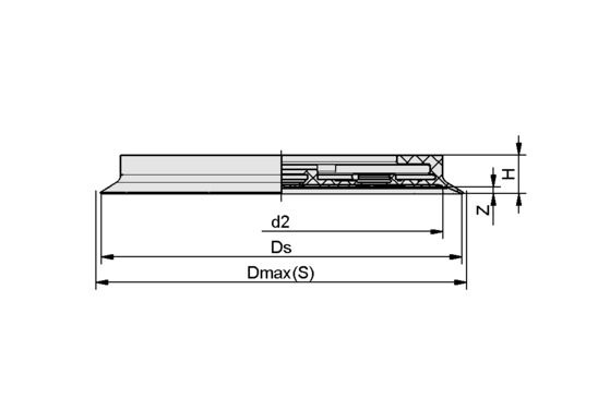 DR-SGF 125 EPDM-55