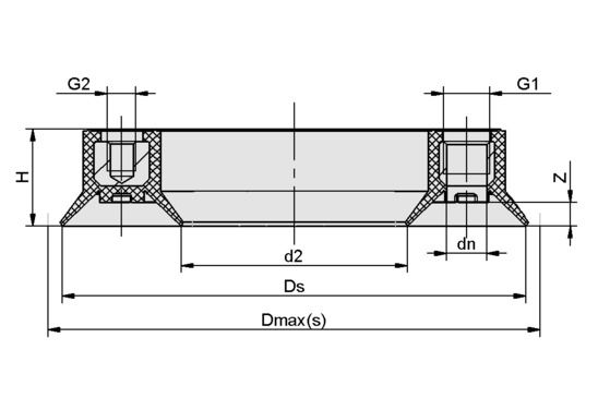 SR-DBD 100 NBR-60