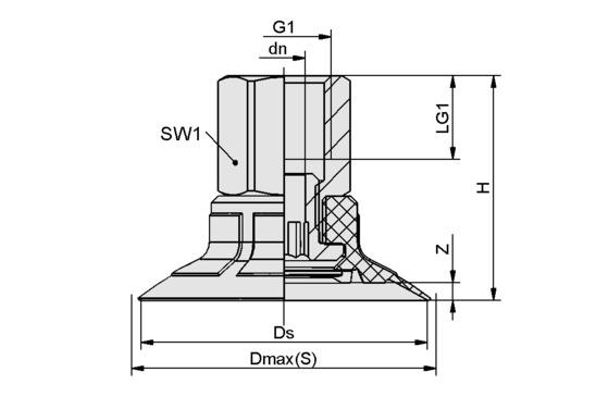 SPF 50 ED-65 G1/4-IG