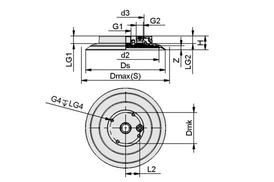 SGF-HS 150 EPDM-55 G1/2-IG