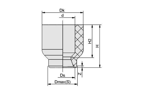 SUF 1.5 NBR-ESD-55 SC010