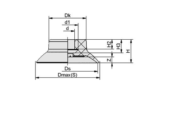 SUF 20 NBR-ESD-55 SC030
