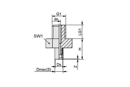 PFYN 1.5 NBR-ESD-55 M3-AG