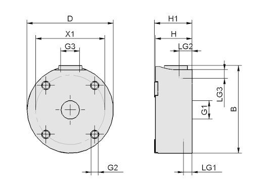 SBS 40 HF G1/8-IG ESD/AL