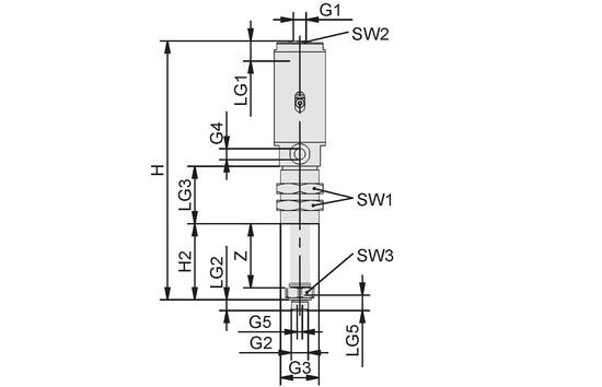 FST-LOCK-HD G1/4-AG 50 NC AB