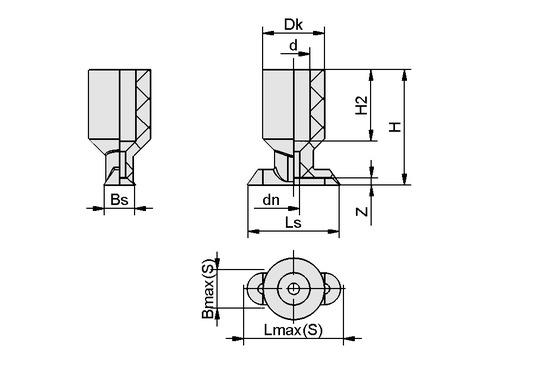 SGO 12x4 NBR-ESD-55 N020