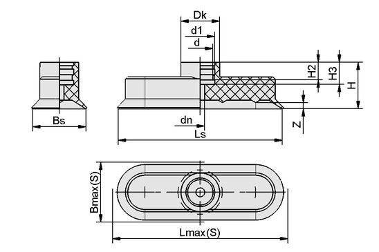 SGO 30x10 NBR-ESD-55 N022