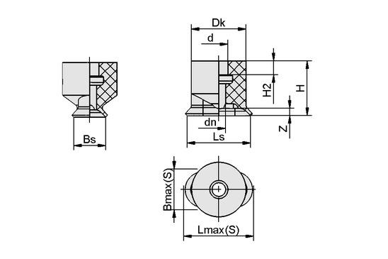 SGO 4x2 NBR-ESD-55 N003
