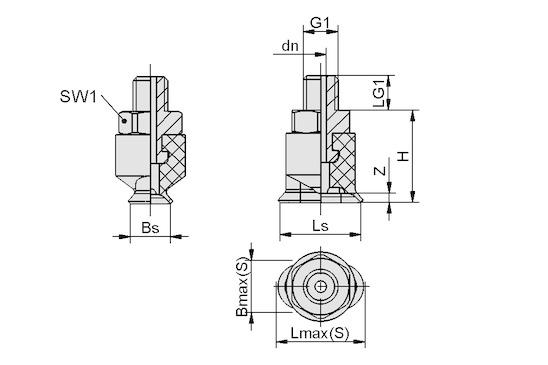 SGON 7x3.5 SI-65 M3-AG