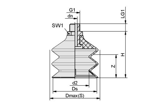 FSG 60 VU1-72 G1/4-AG ON