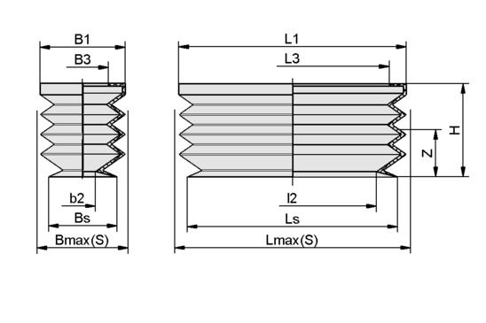 FGB-R 80x30 SI-50