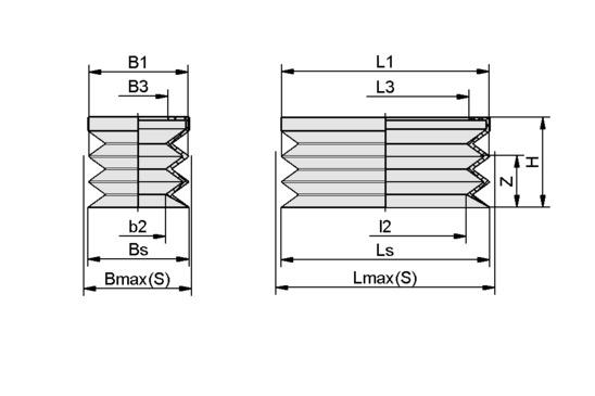 FGB-R 52x25 SI-50