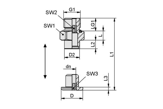 SC 040-AR G1/8-AG