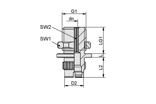 SC-A 045-AR M14x1.5-AG L
