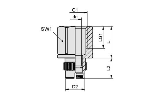 SC-A 055-AR G3/8-IG L