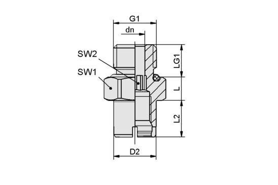 SC-A 045 M16x1.5-AG L