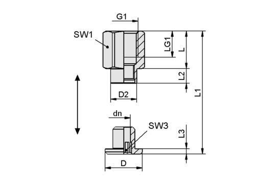SC 065 G1/4-IG L
