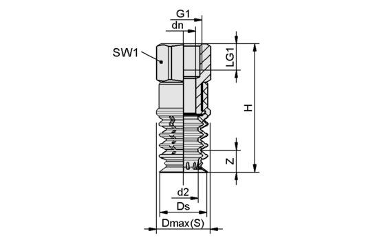 SPB4 20 SI-55 G1/8-IG