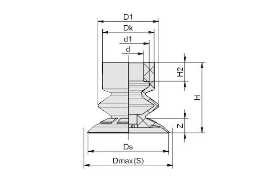 SFB1 15 EPDM-45 SC040