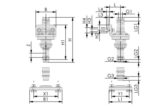 FST-FLEX 25 HD1 G1/2-AG G3/8-IG
