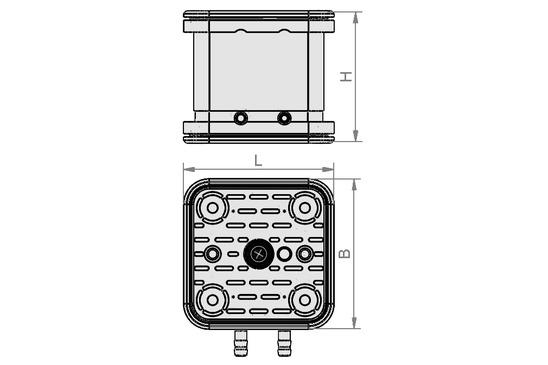 VCBL-G-K2 120x120x100 ST+AS