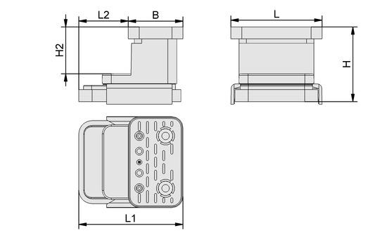 VCBL-K2 125x75x100 Q