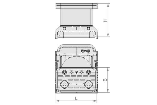 VCBL-K2 125x75x50 D-360