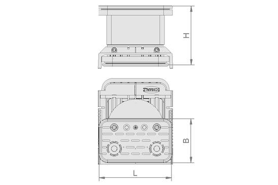 VCBL-K2 120x50x75 D-360