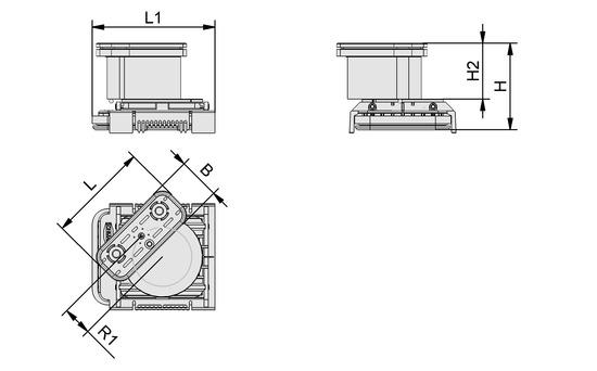 VCBL-K2 125x75x125 D-360