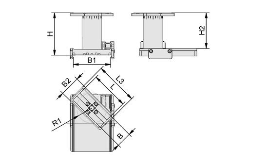 VCBL-A-K1-125x75x125-D-360