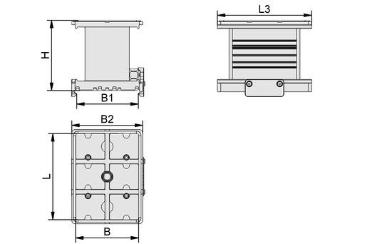 VCBL-A-K1-140x115x50