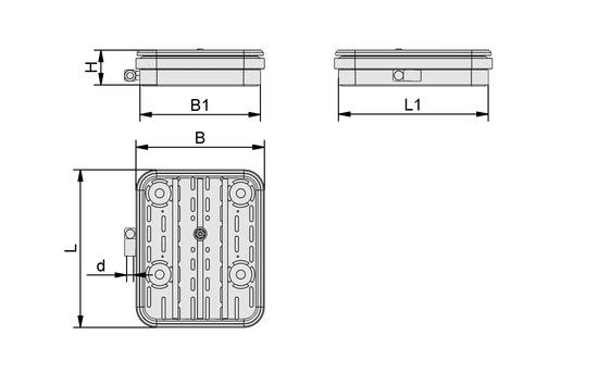 VCBL-G-K1 140x115x30