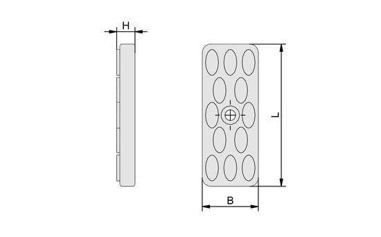 ISRPL 65.4x14.9x4 TPU-85 d6