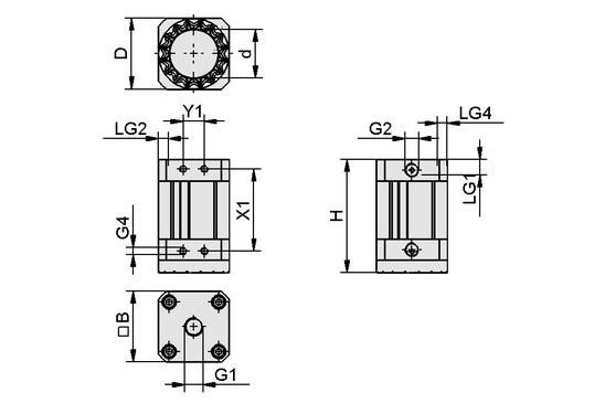 SGM-HD 50 G1/4-IG