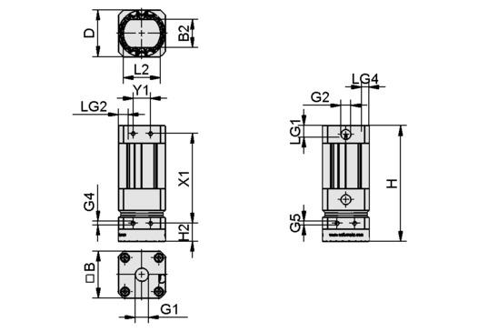 SGM-HP 50 G1/4-IG